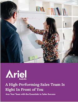 High Performing Sales team