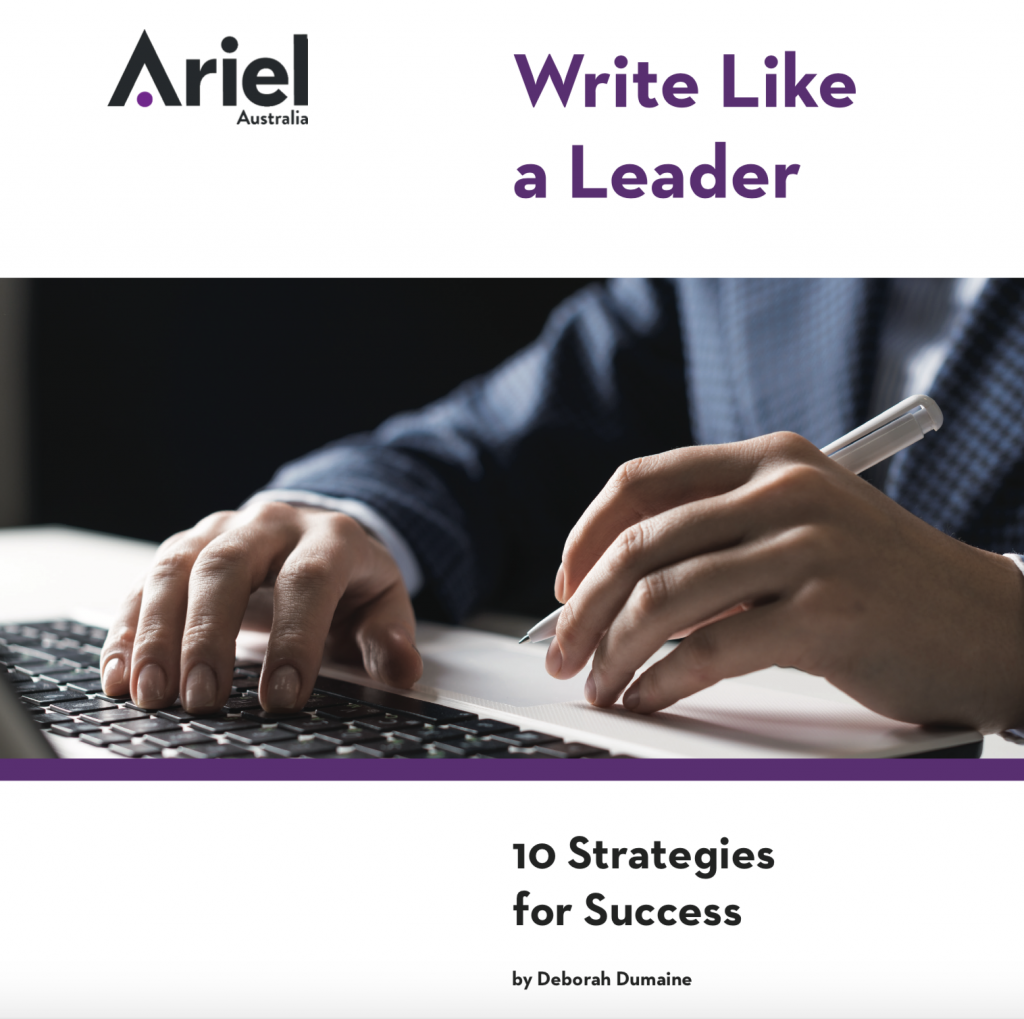 Write Like A Leader eBook cover